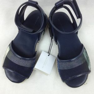 BURBERRY Livvy Ankle Strap Sandals sz 29euro11.5US